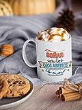 Desconocido Taza Frases motivadoras. Taza de Ceramica de café. Soñar con los Ojos Abiertos