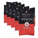 O'ccaffè – Ristretto   Lavazza a Modo Mio cápsulas compatibles   100 cápsulas   café de tostado extra lento de tambor de la empresa familiar italiana