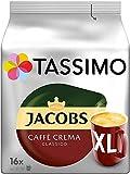 Tassimo Jacobs Caffè Crema Classico XL - 5 Paquetes (80 Porciones)