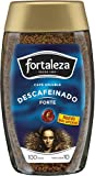Café Fortaleza - Café Soluble Frasco, Descafeinado Forte, Variedades Arábicas, Pack 200g x 6 - Total 1,2Kg