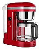 KitchenAid 5KCM1209 - Cafetera de goteo con salida de agua en espiral, color rojo