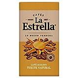 La Estrella Café Molido de tueste Natural - Paquete de Café de 8x250 g - Total: 2 kg