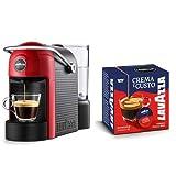 Lavazza Jolie Independiente Máquina de café en cápsulas 0,6 L Semi-automática - Cafetera (Independiente, Máquina de café en cápsulas, 0,6 L, Cápsula de café, 1250 W, Negro, Rojo)