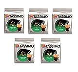 TASSIMO L'Or Café Long Délicat - 5 paquetes de 16 cápsulas: Total 80 unidades