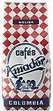 Cafés AMADOR - Café MOLIDO GRUESO Natural Arábica - COLOMBIA (Molienda para Prensa Francesa / Cold Brew) (2x250g) 500g