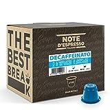 Note d'Espresso - Descafeinado - Cápsulas de Café - Compatibles con Cafeteras NESPRESSO* - 100 caps