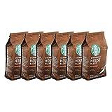 Starbucks House Blend - Juego de café (6 unidades, roast, café tostado, con notas de tofee, molido, 6 x 200 g)