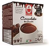 Caffè Bonini - Cápsulas de chocolate (96 unidades, compatibles con todas las máquinas Dolce Gusto)