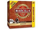 Marcilla Capsulas Compatibles Nespresso, Intenso - 20 Unidades