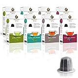 Gourmesso Infusion Bundle (80 Capsulas) - Cápsulas de café compatibles con cafetera Nespresso *