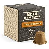 Note d'Espresso - Vainilla Instantáneo - Cápsulas de Capuchino - Compatibles con Cafeteras Nespresso*