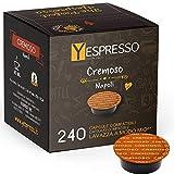 Capsulas Lavazza modo mio compatible (CREMOSO, 240 cápsulas)