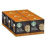STARBUCKS Caramel Macchiato De Nescafe Dolce Gusto Cápsulas De Café 6 X Caja De 12 Unidades