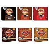 Paquete de cápsulas de café Marcilla - Cápsula de café de aluminio compatible con Nespresso * - 6 paquetes (120 cápsulas)