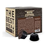 Note d'Espresso - Cápsulas de Chocolate - Compatibles con Cafeteras de Cápsulas NesCafé* y Dolce Gusto* - 48 x 14g