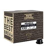 Note d'Espresso - Arabica - Cápsulas de Café para las Cafeteras Caffitaly* - 100 x 6.8 g