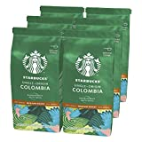 Starbucks Single Origin Colombia Café molido De Tostado Medio 6 Bolsa de 200g
