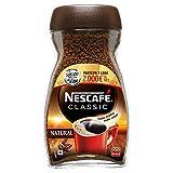 NESCAFÉ Café Classic Soluble Natural, Bote de cristal, Paquete de 6x200g de Café - Total 1,2 Kg