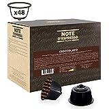 Note D'Espresso - Cápsulas de chocolate Exclusivamente Compatibles con cafeteras de cápsulas Nescafé* y Dolce Gusto* 14g (caja de 48 unidades)