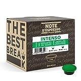 Note d'Espresso - Intenso - Cápsulas de Café para las Cafeteras LAVAZZA* A MODO MIO* - 100 caps