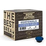 Note d'Espresso - Guatemala - Cápsulas de Café para las Cafeteras Lavazza y A Modo Mio - 100 x 7 g