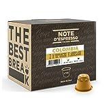 Note d'Espresso - Cápsulas de Café de Colombia - Compatibles con Cafeteras Nespresso*