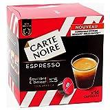 Carte Noire Expresso Compatible Dolce Gusto (lot de 64 capsules)