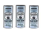 CAFES GUILIS DESDE 1928 AMANTES DEL CAFE Café Molido Natural Black Blend de Tueste Natural - Pack 3 Latas 250 gr
