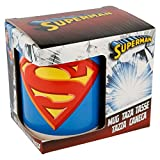 Taza de cerámica para niños en caja de regalo (Superman)