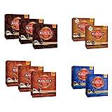 Marcilla Surtido de Café Cápsulas - Cápsulas de café de aluminio compatibles con máquinas Nespresso - 10 Paquetes (200 porciones)