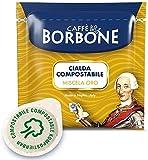 Café Borbone - 150 cápsulas de lo mejor café italiano - mezcla Gold- standard ESE 44mm -intensidad 7/10