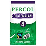 Percol Fairtrade Vibrant Guatemalan Coffee - with Berry & Chocolate notes 8oz (Pack of 3)