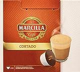 MARCILLA Cortado - cápsulas compatibles con las cafeteras Nescafé(R)* Dolce Gusto(R)* | 3 paquetes de 14 cápsulas - Total 42 cápsulas