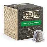 Note d'Espresso - Cápsulas De Menta Poleo - Compatibles con Cafeteras Nespresso*