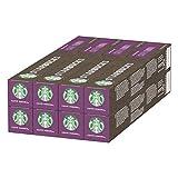 STARBUCKS Caffè Verona de Nespresso Cápsulas de Café de Tostado Intenso 8 x Tubo de 10 Unidades