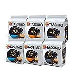 Tassimo Coffee L'OR Espresso Bundle Cápsulas de Café - L'OR Decaffeinato, Delizioso, Fortissimo - 6 Paquetes (96 Porciones)