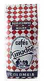 Cafés AMADOR - Café DESCAFEINADO MOLIDO GRUESO Natural Arábica - COLOMBIA (Molienda para Prensa Francesa / Cold Brew) (2x250g) 500g