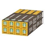 STARBUCKS Blonde Espresso Roast de Nespresso Cápsulas de Café de Tostado Suave 8 x Tubo de 10Unidades