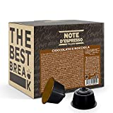 Note d'Espresso - Chocolate con Avellana - Cápsulas compatibles con Cafeteras NESCAFE'* DOLCE GUSTO* - 48 caps