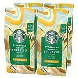 Starbucks Blonde Espresso Roast Café de Grano Entero de Tostado Suave (4 Bolsa de 450G) 1800 g