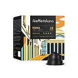 FRHOME - Nescafè Dolce Gusto 96 Càpsulas compatibles - Il Caffè Italiano - Mezcla Roma Intensidad 10