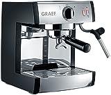 Graef ES702EU01 - Cafetera espresso (acero inoxidable), color negro mate