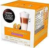 Nescafé DOLCE GUSTO Café LATTE MACCHIATO LIGHT - Pack de 3 x 16 cápsulas - Total: 48 Cápsulas
