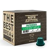 Note d'Espresso - Intenso - Cápsulas de Café - Compatibles con Cafeteras NESPRESSO* - 100 caps