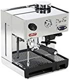 Lelit PL042TEMD Independiente Manual Máquina espresso 2.7L 2tazas Acero inoxidable - Cafetera (Independiente, Máquina espresso, 2,7 L, Molinillo integrado, 1200 W, Acero inoxidable) 37x32x26cm