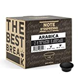 Note d'Espresso - Arabica - Cápsulas de Café para las Cafeteras LAVAZZA* A MODO MIO* - 100 caps