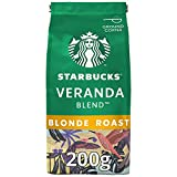 STARBUCKS - Café Molido de Tueste Natural - de Veranda Blend - Blonde Roast - Con Notas de Cacao - 200 Gramos