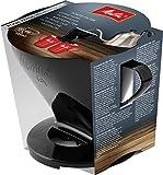 Melitta 6761018, Soporte para filtros de café, Para filtros de tamaño 1x4, Compatible con 1 jarra o 2 tazas, Plástico, Pour Over, Negro