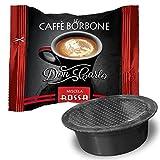 Cápsulas de café Borbone Don Carlo compatibles con la cafetera A Modo Mio de Lavazza, de tipo Rossa, Blu, Nera, Oro y Dek