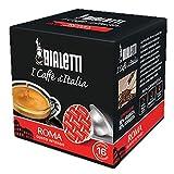 160 cápsulas de aluminio I Caffè d'Italia Bialetti Mokespresso Roma originales